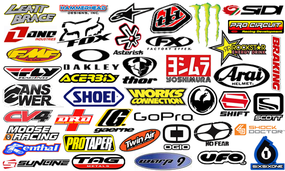 Motocross Gear ATV Gear Brands Dirt Bike Parts
