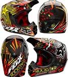 2011 Fox V3 Ryan Dungel Rockstar Helmet
